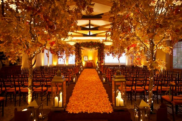 fall wedding reception decoration ideas