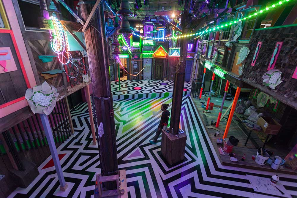 Meow Wolf, NM