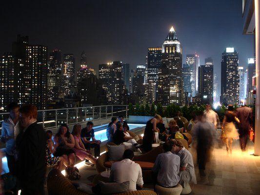 Press Lounge,  New York