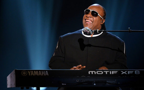 LAS VEGAS, NV - APRIL 07:  Recording artist Stevie Wonder performs during the 48th Annual Academy of Country Music Awards at the MGM Grand Garden Arena on April 7, 2013 in Las Vegas, Nevada.  (Photo by Ethan Miller/Getty Images)