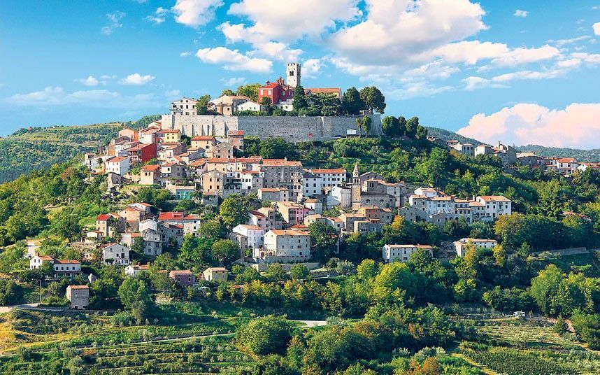 Motovun, Central Istria, Croatia